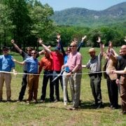 Weed Patch Mountain Trail Ribbon Cutting Ceremony